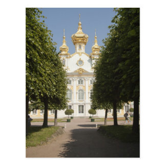 The East Chapel. Petergof, St.Petersburg Postcard