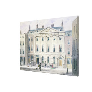 The East front of Skinners' Hall, 1851 Canvas Print