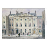 The East front of Skinners' Hall, 1851 Greeting Card