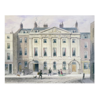The East front of Skinners' Hall, 1851 Postcard