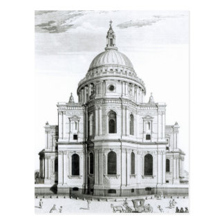 The East Prospect of St Paul s Cathedral Post Card