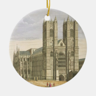 The East Prospect of the Abbey of St. Peter and th Ceramic Ornament