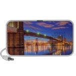 The East River, Brooklyn Bridge, Manhattan Mini Speaker