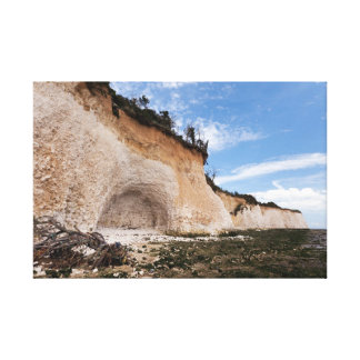 The East Side of Pegwell Bay Stretched Canvas Prints