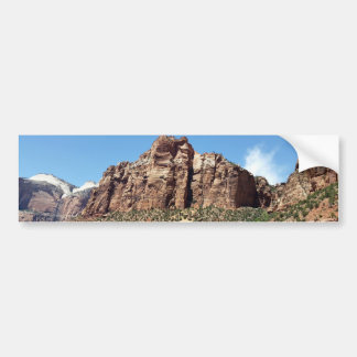 The East Temple Zion National Park in Utah Bumper Sticker