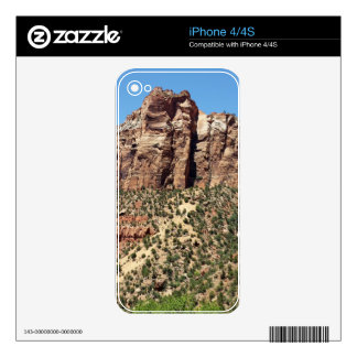The East Temple Zion National Park in Utah iPhone 4 Skin
