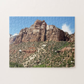 The East Temple Zion National Park in Utah Jigsaw Puzzle
