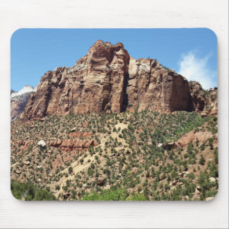 The East Temple Zion National Park in Utah Mouse Pad