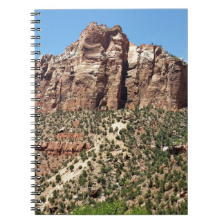 The East Temple Zion National Park in Utah Notebook