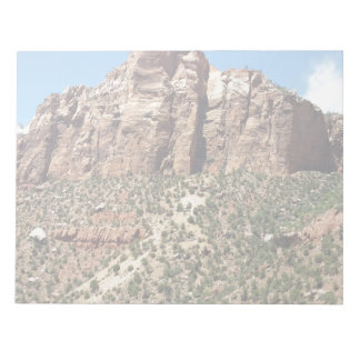 The East Temple Zion National Park in Utah Notepad