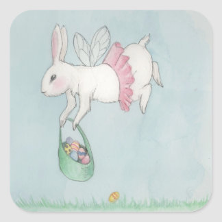 The Easter Bunny is On It's Way Stickers