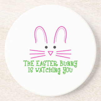 THE EASTER BUNNY IS WATCHING YOU COASTERS