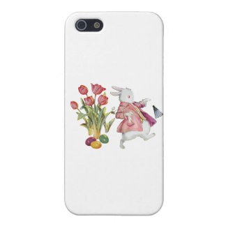 The Easter Bunny Runs Away iPhone 5/5S Cases