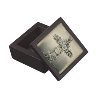 The Easter Cross by Currier & Ives 1869 Premium Keepsake Box