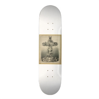 The Easter Cross by Currier & Ives 1869 Skate Board Deck