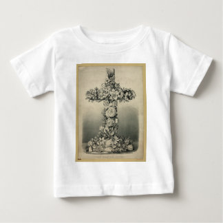 The Easter Cross by Ives 1869 Baby T-Shirt