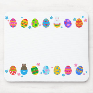 < The Easter egg and rabbit side it lines up, Mouse Pad