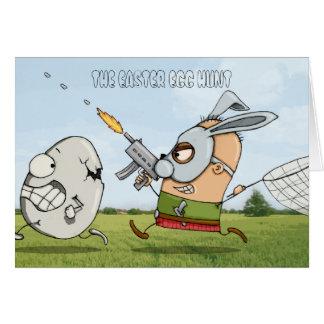 THE EASTER EGG HUNT CARD