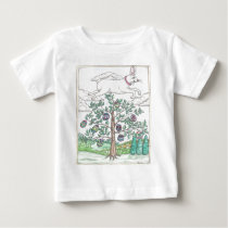 The Easter Egg Tree Baby T-Shirt