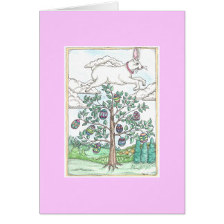 The Easter Egg Tree Greeting Cards