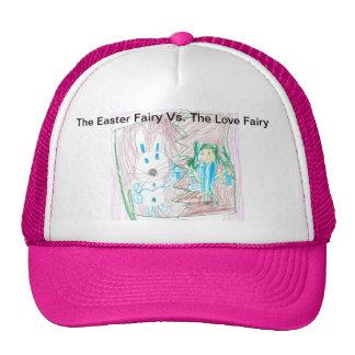 The Easter Fairy Vs. The Love Fairy Trucker Hat