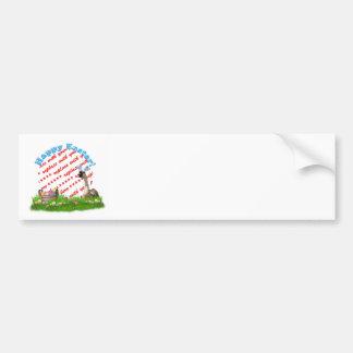 The Easter Goose Photo Frame Bumper Sticker