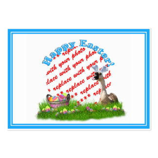 The Easter Goose Photo Frame Large Business Cards (Pack Of 100)