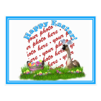 The Easter Goose Photo Frame Post Card