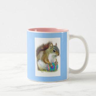 The Easter Nut Two-Tone Coffee Mug