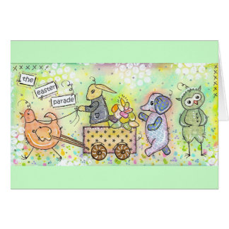 The Easter parade! Card