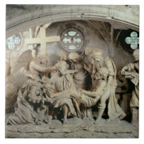 The Easter Sepulchre, 1554-64 (stone) Ceramic Tile