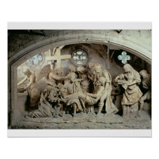 The Easter Sepulchre, 1554-64 (stone) Poster