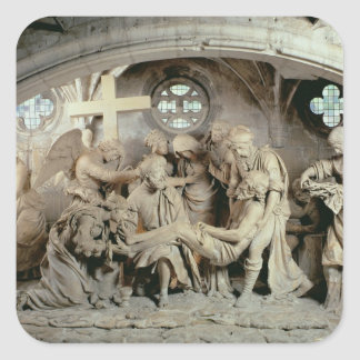The Easter Sepulchre, 1554-64 (stone) Square Sticker