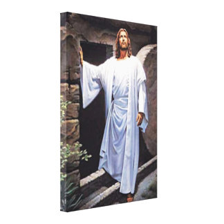 The Easter Story Wrapped Canvas