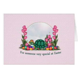 The Easter Turtle  Card
