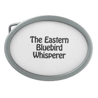 the eastern bluebird whisperer belt buckle