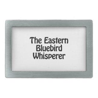 the eastern bluebird whisperer rectangular belt buckles
