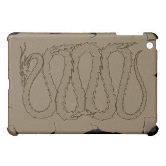 The Eastern Dragon Ancient Scroll iPad Mini Cover