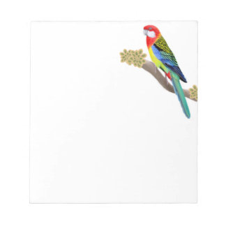 The Eastern Rosella Parrot Notepad