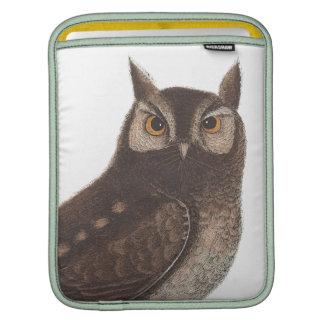 The Eastern Screech Owl - Catesby / Seligman iPad Sleeves