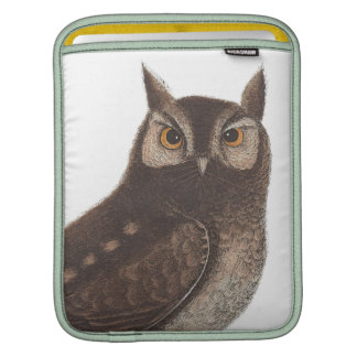 The Eastern Screech Owl - Catesby / Seligman Sleeve For iPads