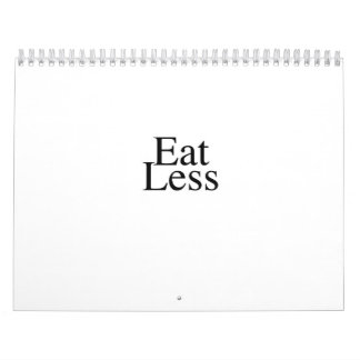 The Eat Less Diet Calendar