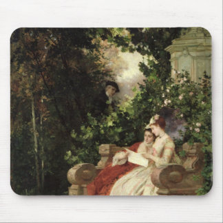 The Eavesdropper, 1868 Mouse Pad