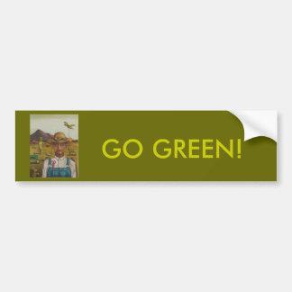 The Eccentric Farmer Car Bumper Sticker