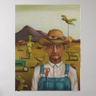 The Eccentric Farmer Poster