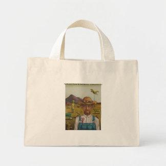 The Eccentric Farmer, The Eccentric Farmer By L... Canvas Bag