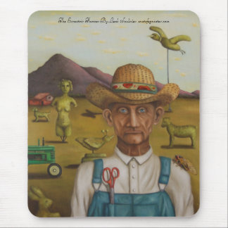 The Eccentric Farmer, The Eccentric Farmer By L... Mouse Pad