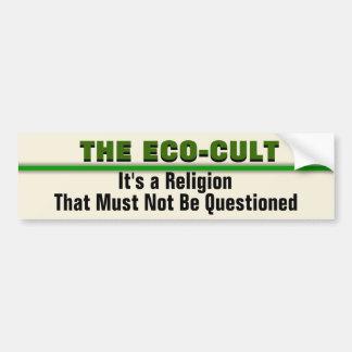 The Eco-Cult Political Bumper Sticker