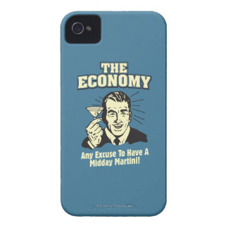 The Economy: Midday Martini iPhone 4 Case-Mate Case
