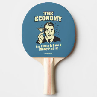 The Economy: Midday Martini Ping-Pong Paddle